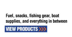 That's Convenience | Fuel, snacks, fishing gear, boat supplies, and everything in between | View Products